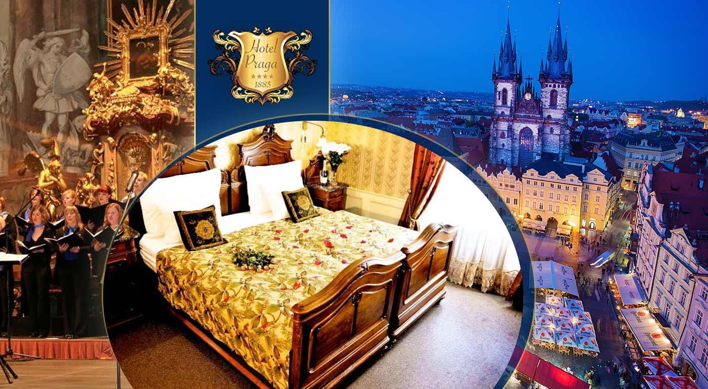Adventné 3 dni v Prahe v pohodlí Hotela Praga 1885 - zažite atmosféru rozsvietenia vianočného stromčeka či koncert speváckeho zboru Carmina Bohemica