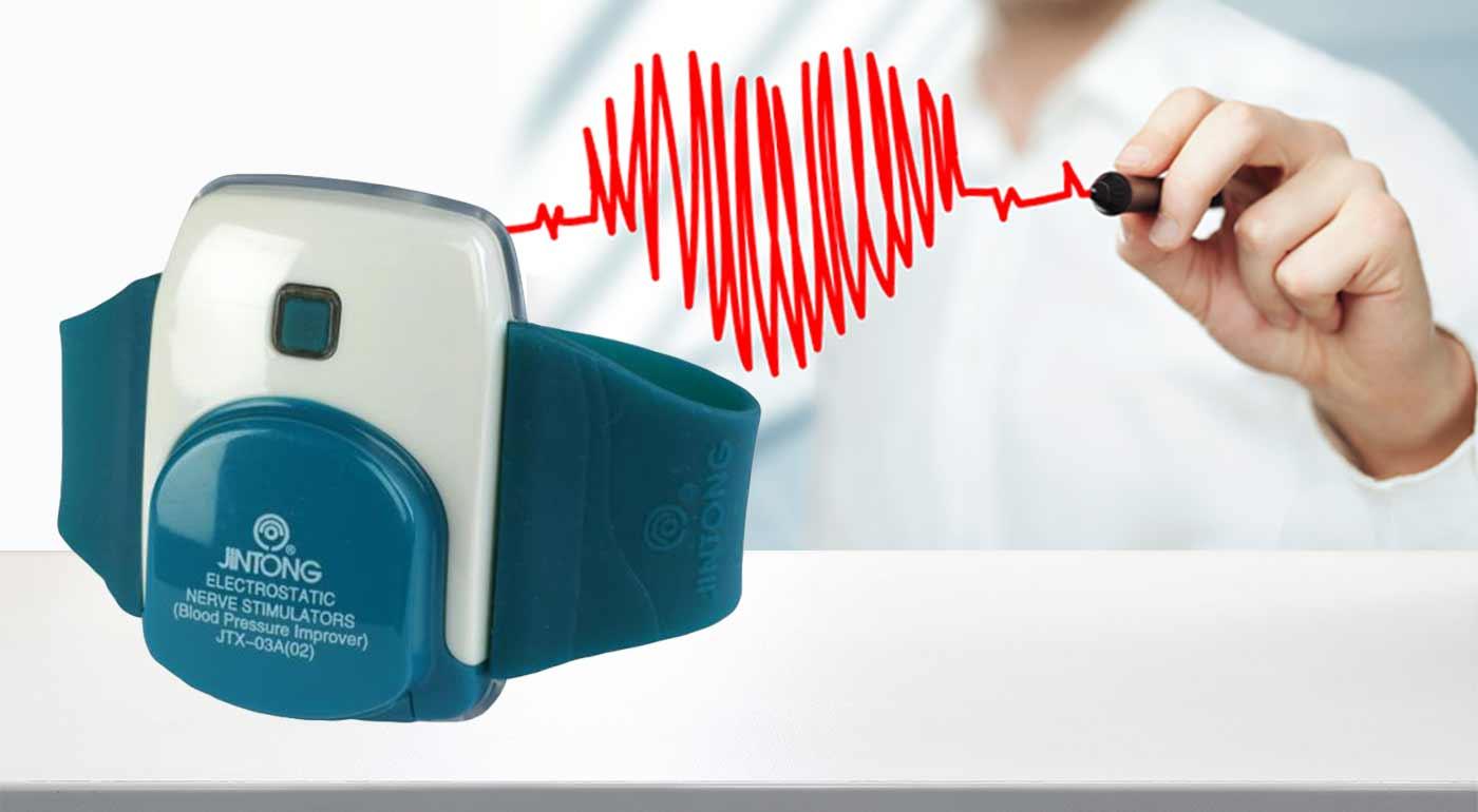 Stabilizátor krvného tlaku Jintong - elektrostatický nervový stimulátor na stabilizáciu krvného tlaku