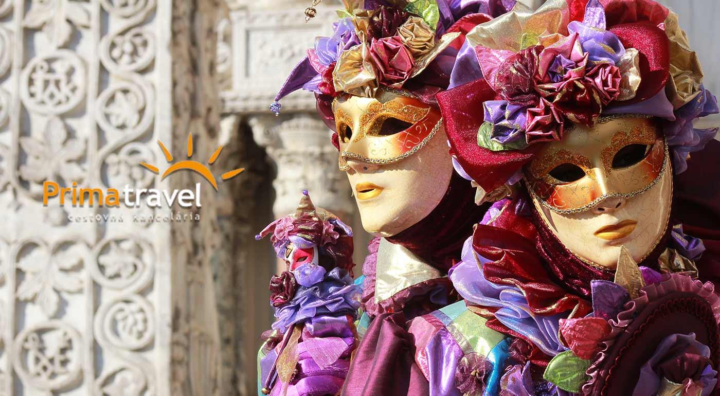 Karneval v Benátkach s návštevou stredovekej Verony počas 4-dňového zájazdu