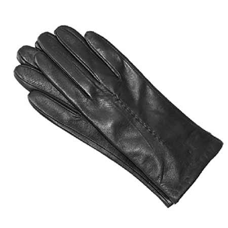 Pánske kožené rukavice - farba čierna