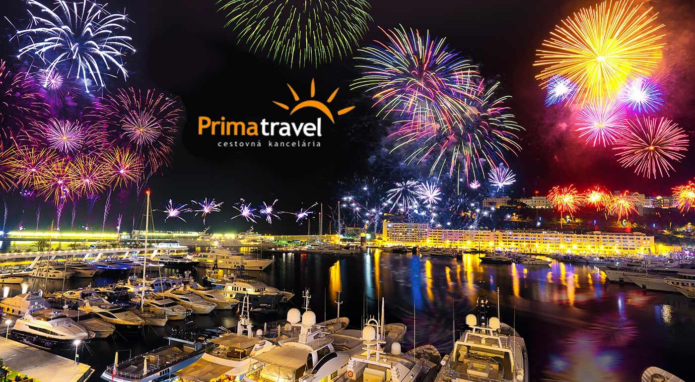 Jedinečná atmosféra Francúzskej riviéry a miest Grasse, Nice, Cannes či Monaka počas osláv Nového roka