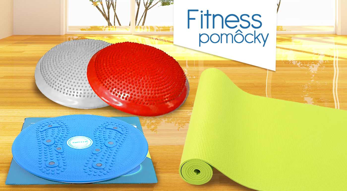 Fitness pomôcky - vyberte si balančný disk, rotanu alebo podložku na cvičenie