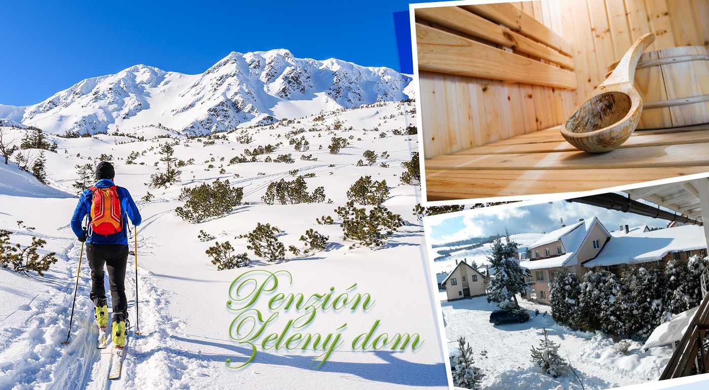 Pobyt na 3 až 5 dní pre dvoch v Penzióne Zelený dom na Orave v blízkosti lyžiarskeho strediska Ski Vitanová