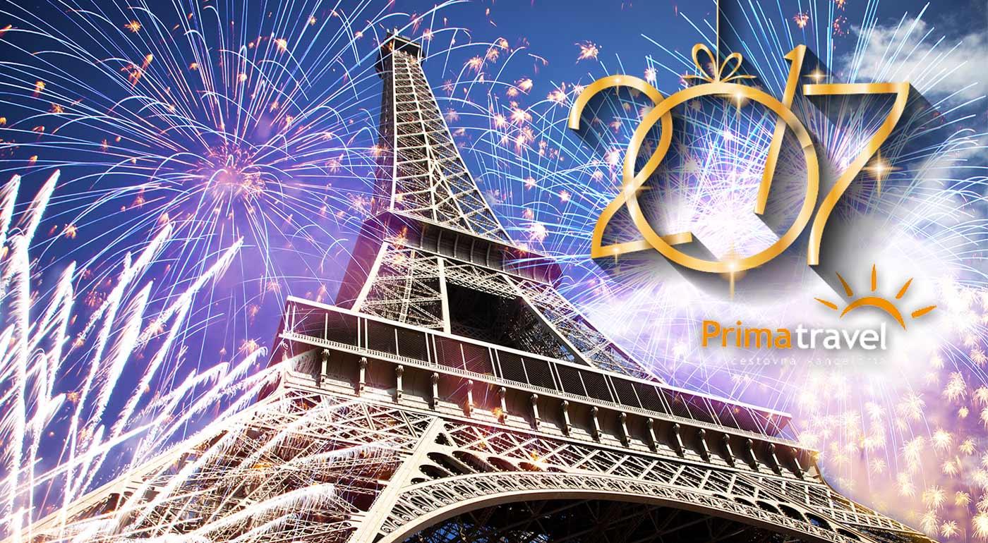 Oslavy Nového roka pod Eiffelovkou - užite si Silvestra v Paríži na 5-dňovom zájazde