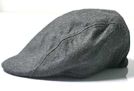 Pánska baretka - farba sivá