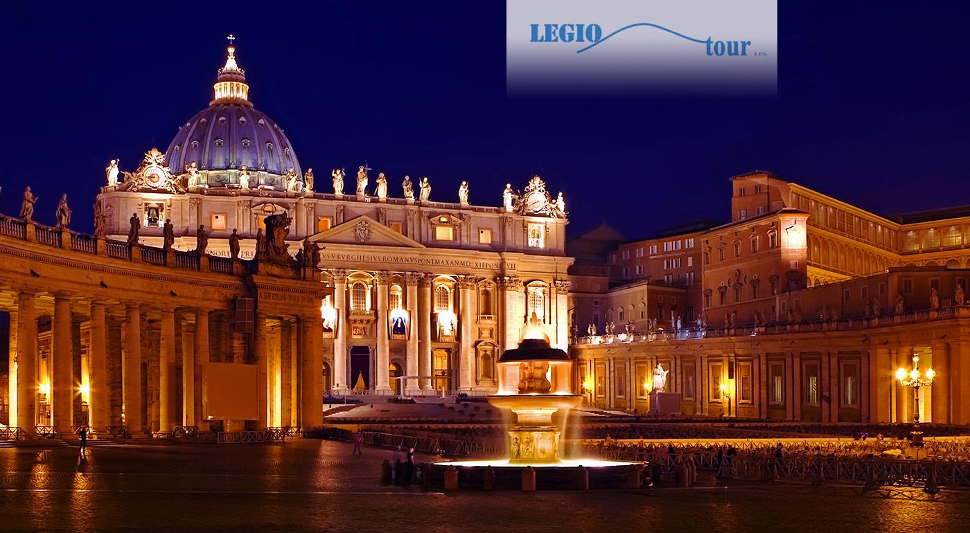 Najkrajšie dominanty Ríma a Vatikánu počas 5-dňového zájazdu