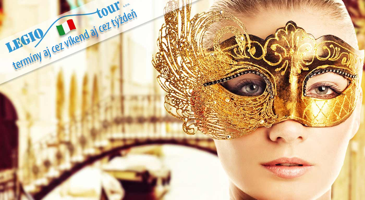 Vychutnajte si vrušujúcu prehliadku masiek, kostýmov a zábavy na karnevale v Benátkach