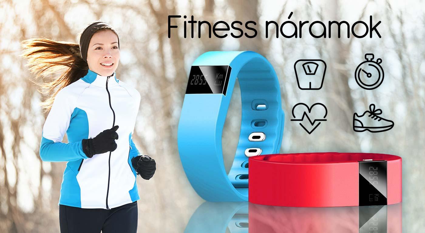 Fitness náramok, ktorý meria vašu aktivitu - jednoduché spárovanie so smartfónom