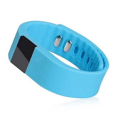 Inteligentný fitness náramok - farba modrá