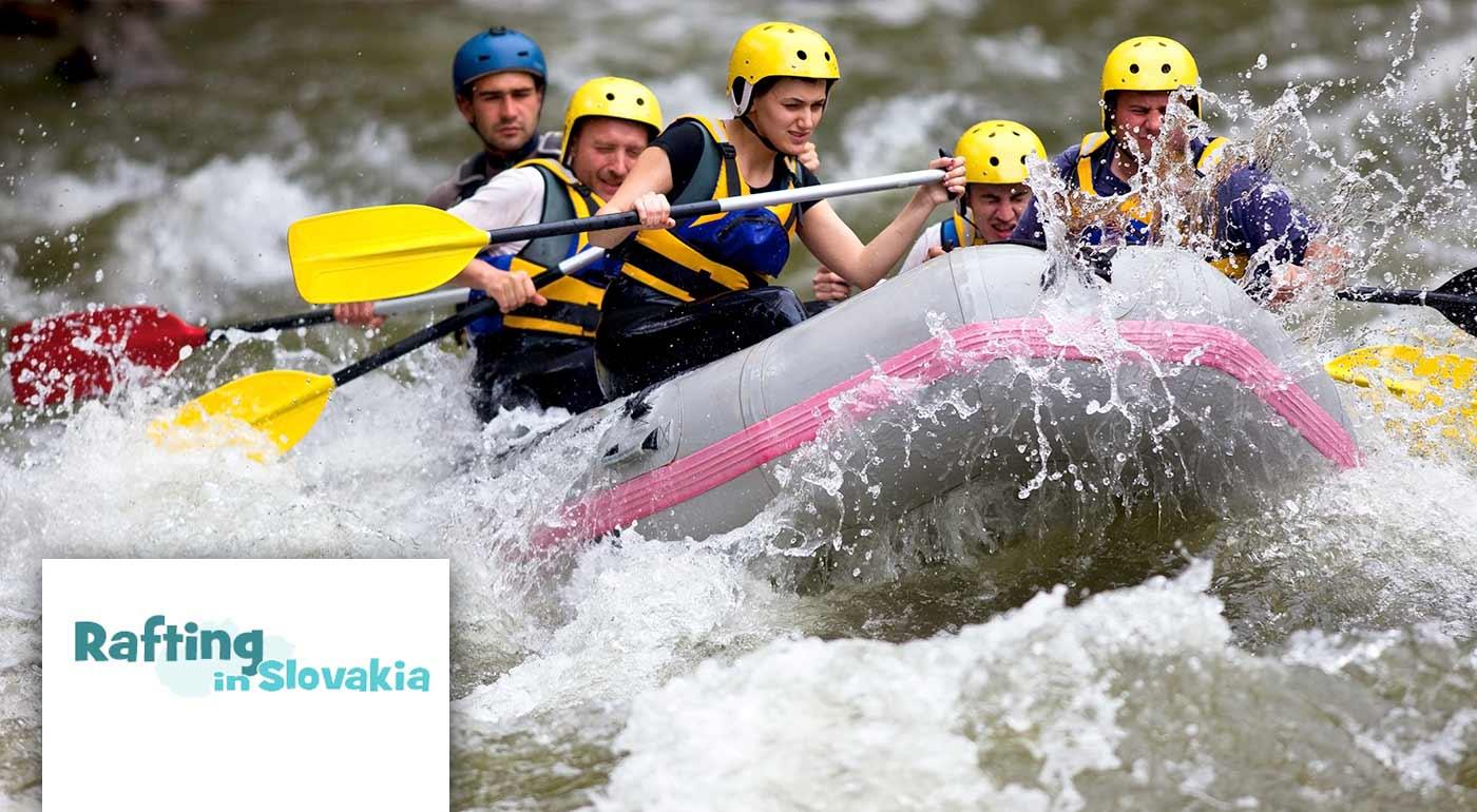 Splav divokej rieky Belá, pokojný splav rieky Váh alebo adrenalínový raft v umelom kanáli v Liptovskom Mikuláši