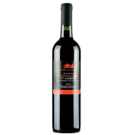 Modravin - Svätovavrinecké - červené víno, suché, 0,75 l