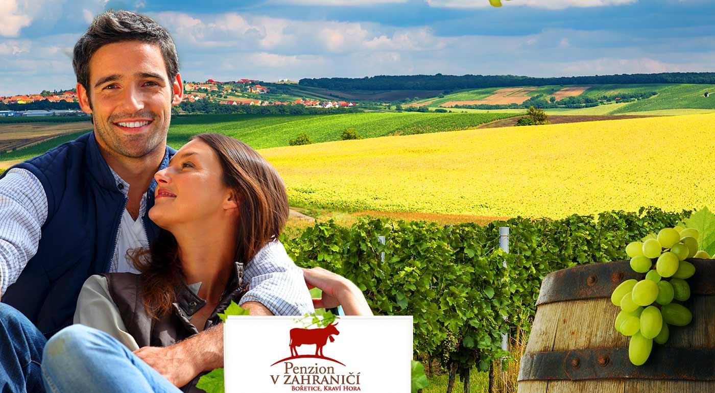 Penzión v Zahraničí je tým správnym miestom pre milovníkov vína, jedla a zábavy - urobte si výlet na Moravu!