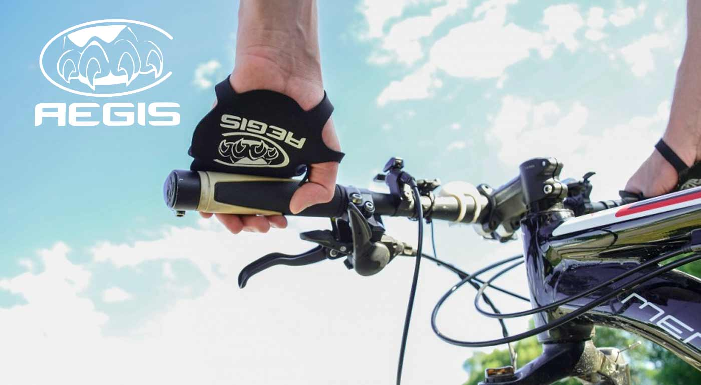 Multifunkčné rukavice Aegis Grip na fitness, crossfit, bicykel či manuálnu prácu - ochráňte dlane pred mozoľmi