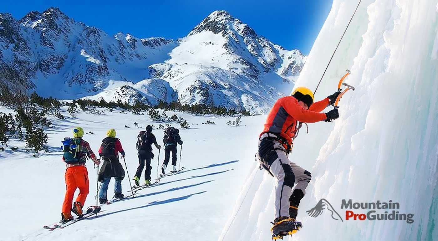 Tatranská srdcovka - adrenalínový kurz skialpinizmu, lezenie v ľadopáde a lavínový kurz vo Vysokých Tatrách na 3 dni