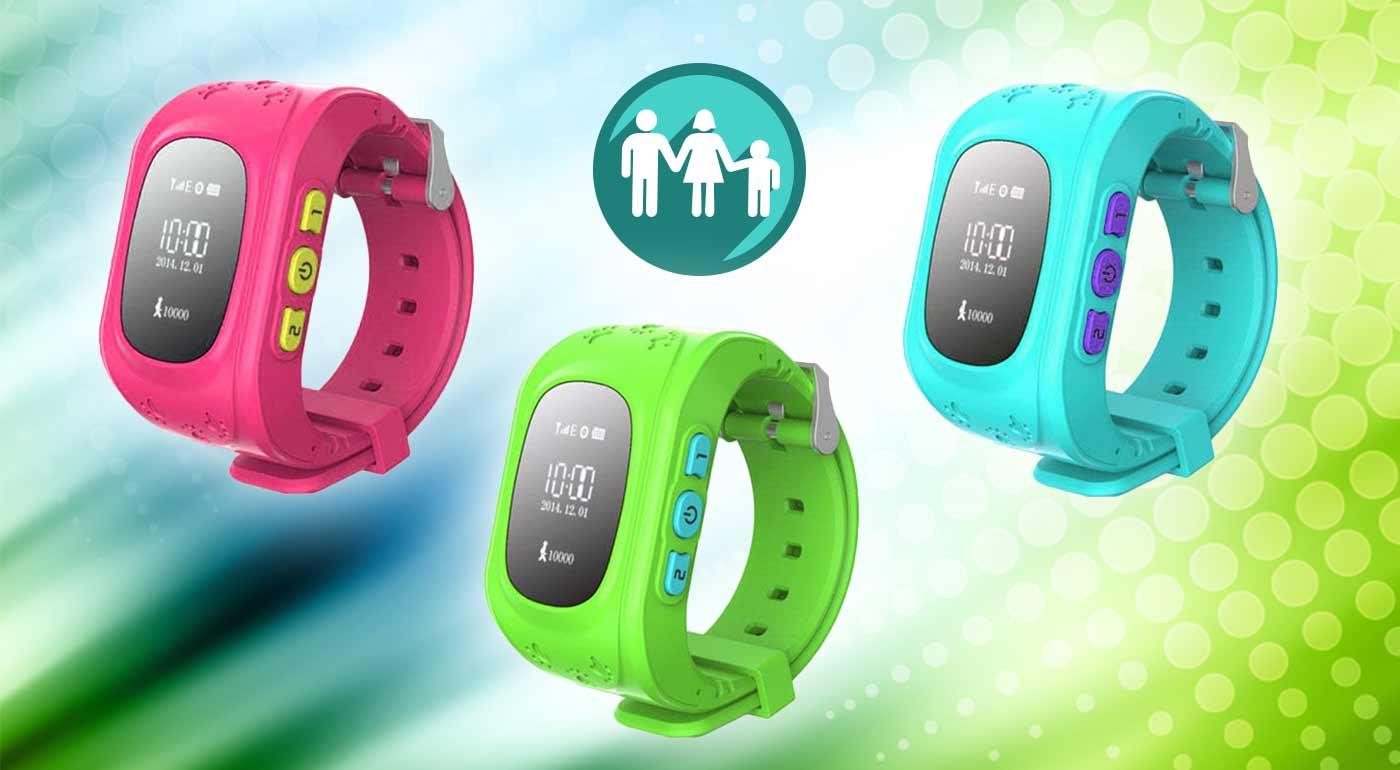 Hodinky s GPS lokalizáciou polohy vašich detí a slotom na SIM kartu