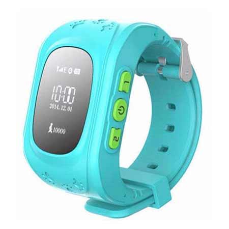 Detské hodinky s GPS lokalizáciou - farba modrá