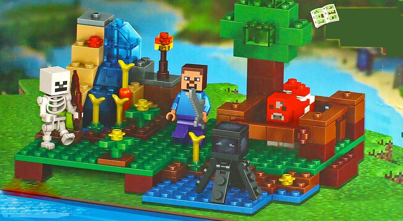 Stavebnice Minecraft, podľa slávnej hry kompatibilné s legom
