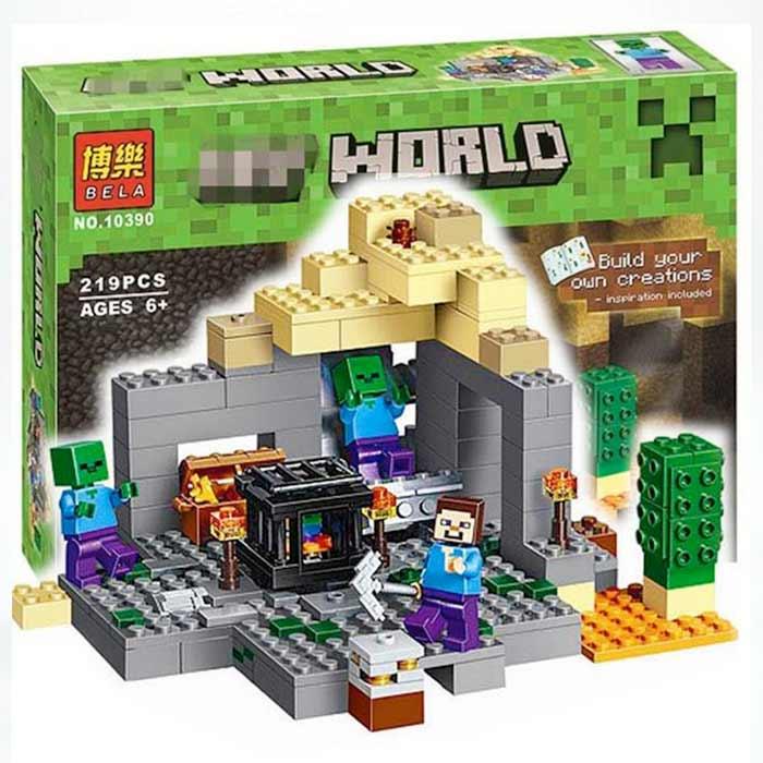 Stavebnica Bela Minecraft - 219 dielikov