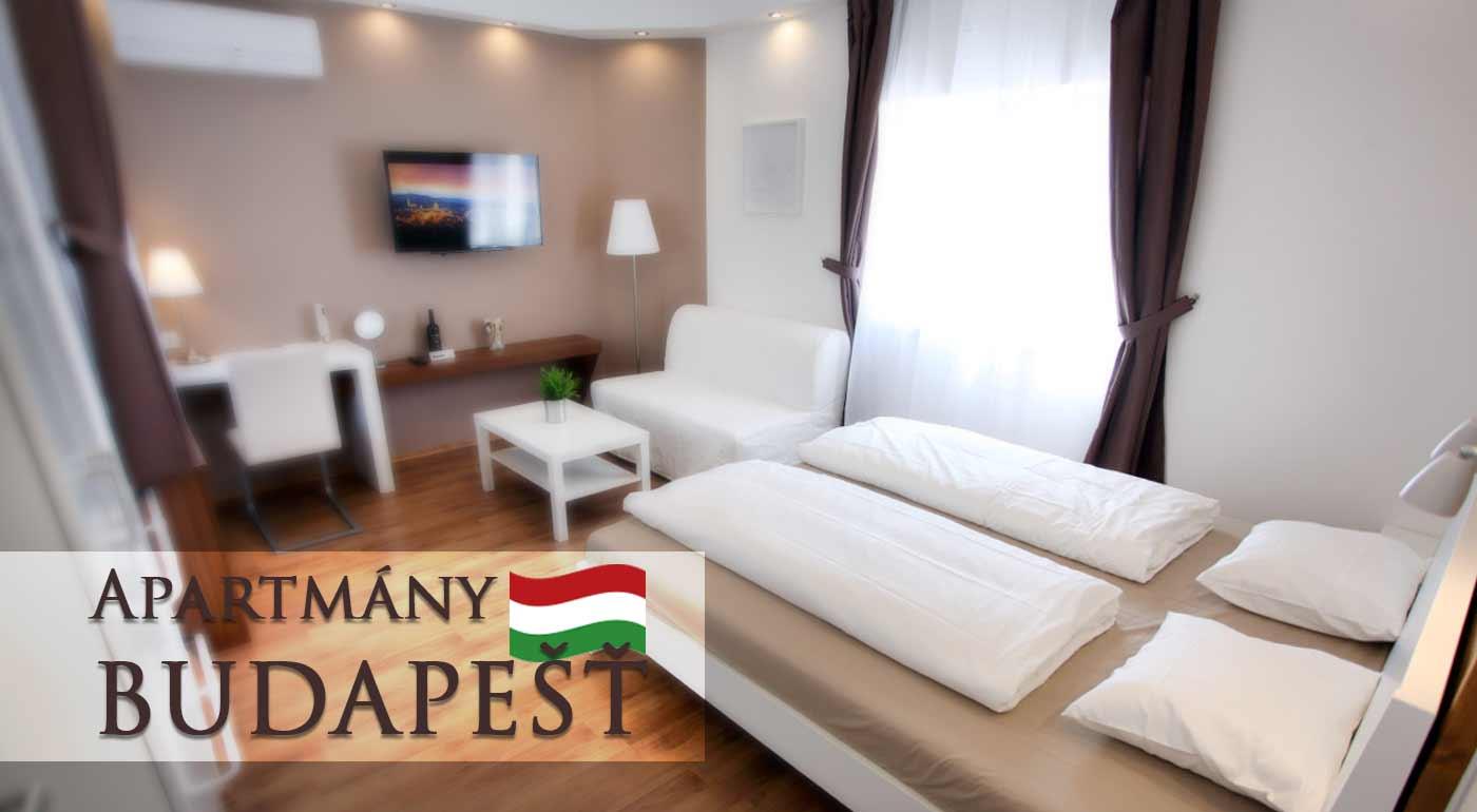 Pár dní priamo v centre hlavného mesta našich južných susedov Budapešti v moderných apartmánoch pre dvoch