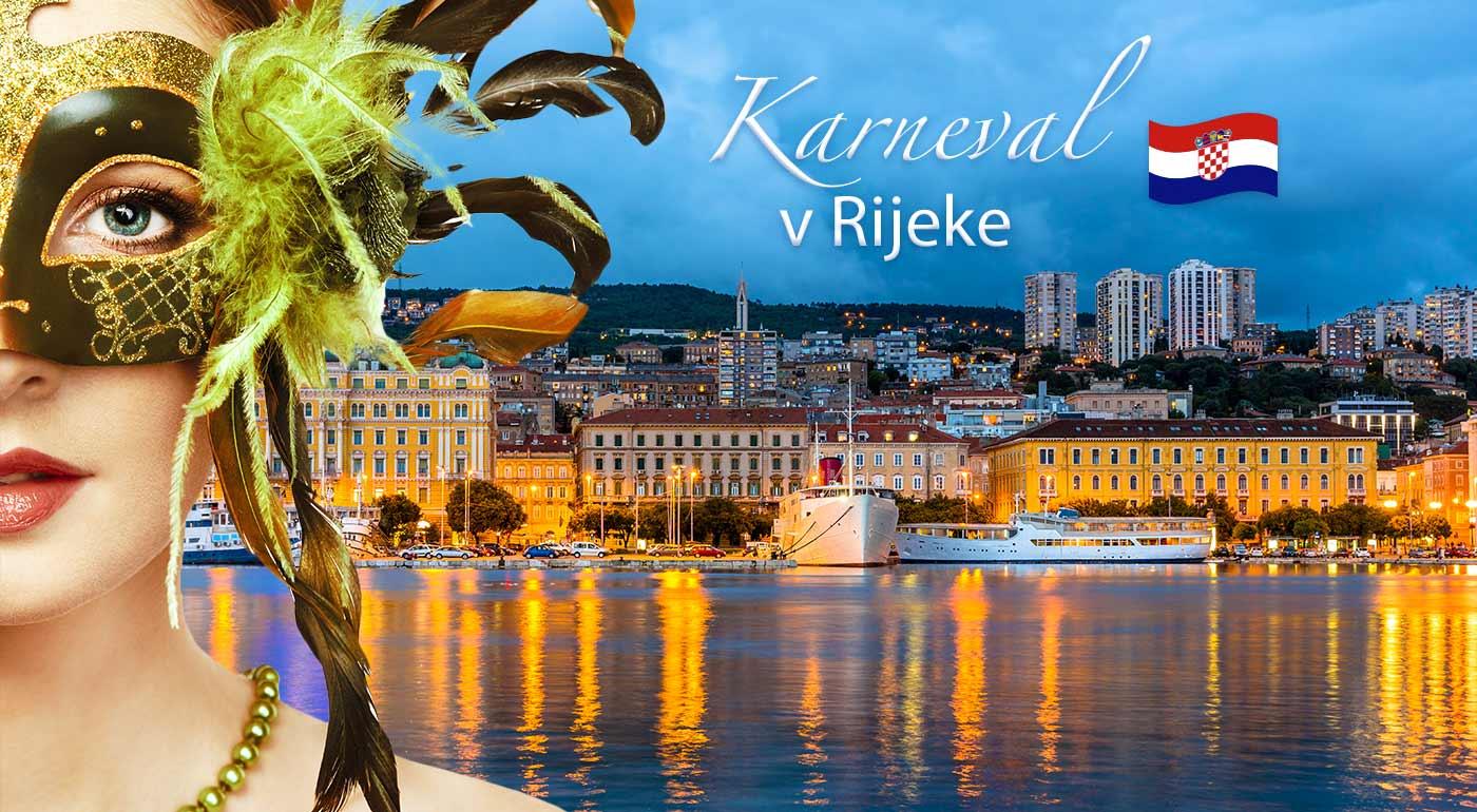 Zájazd na medzinárodný karneval v chorvátskej Rijeke