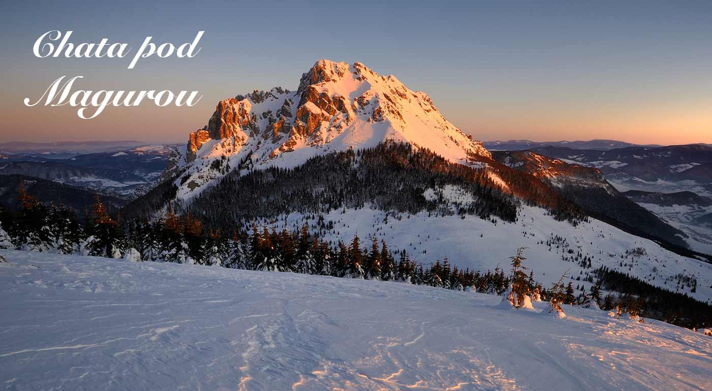 Skvelá zima v oravskej prírode s bohatými možnosťami na lyžovačku - užite si dovolenku v Chate pod Magurou v Zázrivej