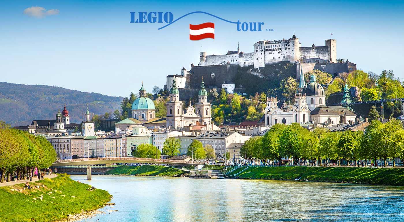 2-dňový poznávací zájazd do rodného mesta Mozarta Salzburgu a nádherného okolia