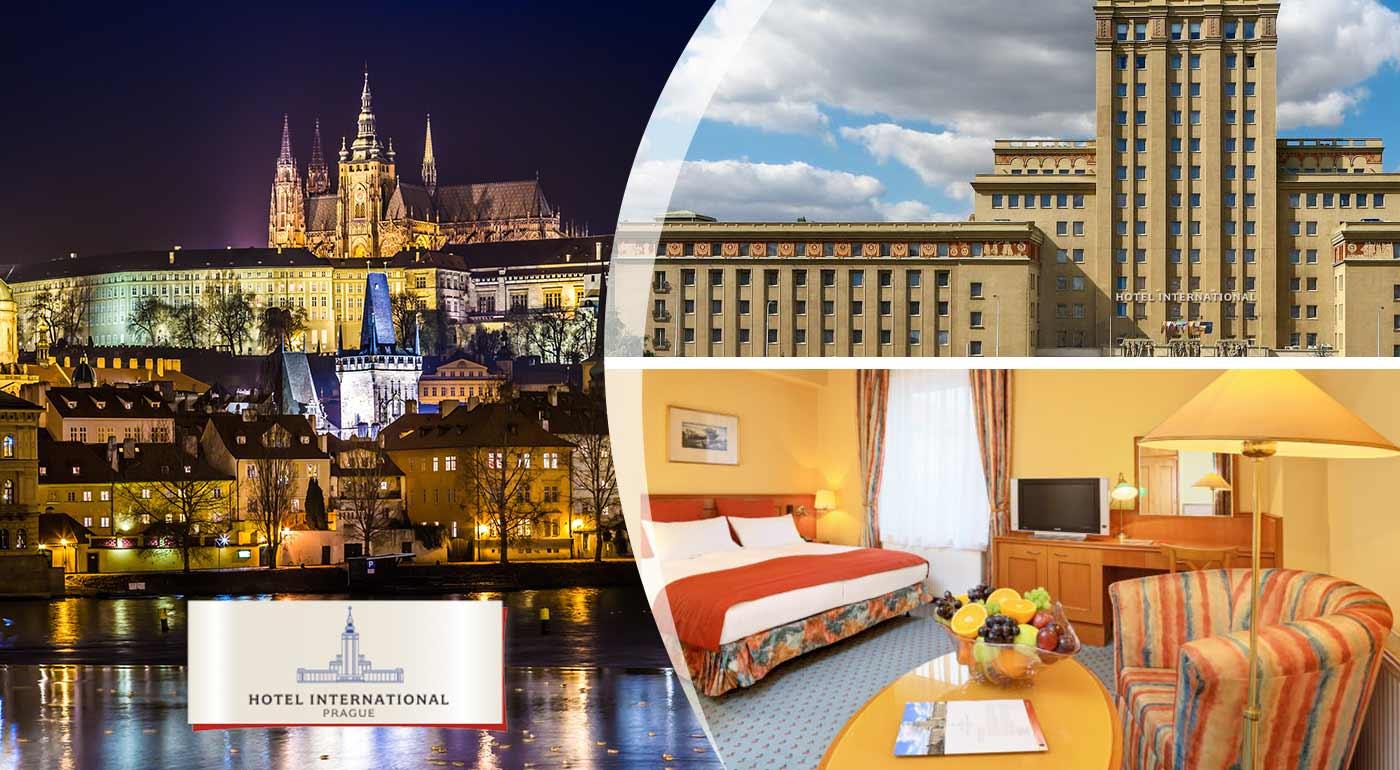 Čarovná Praha v štýle Art deco pre dvoch v Hoteli International Prague****