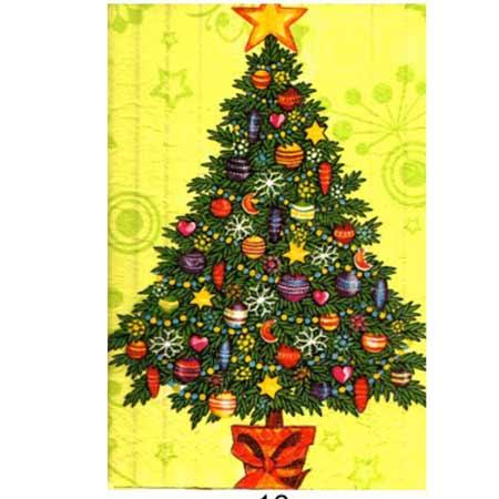 Ručne vyrábaný vianočný pozdrav od zdravotne postihnutých detí  - motív 14
