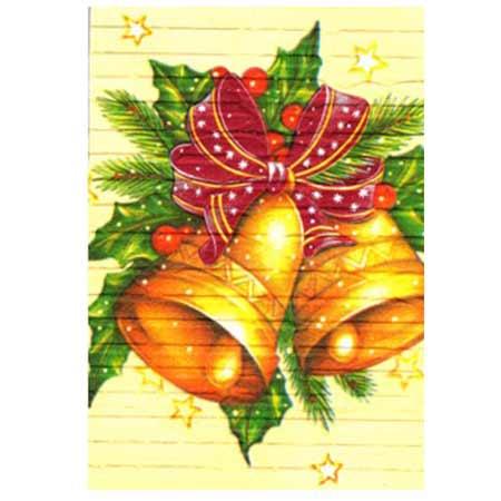Ručne vyrábaný vianočný pozdrav od zdravotne postihnutých detí  - motív 2