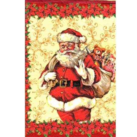 Ručne vyrábaný vianočný pozdrav od zdravotne postihnutých detí  - motív 4