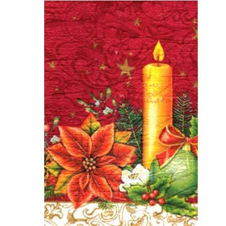 Ručne vyrábaný vianočný pozdrav od zdravotne postihnutých detí  - motív 6
