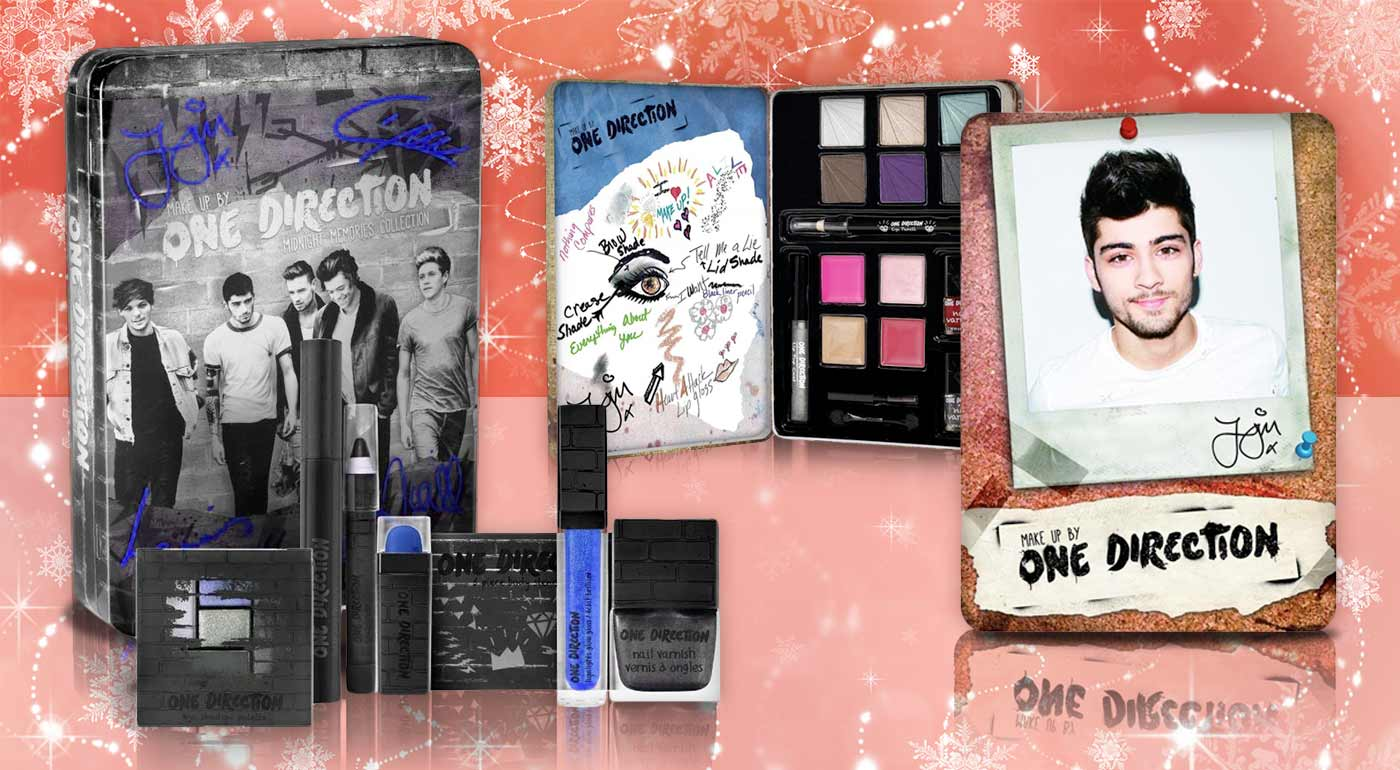 Dekoratívna kozmetika One Direction - skvelý tip na darček pre všetky násťročné!