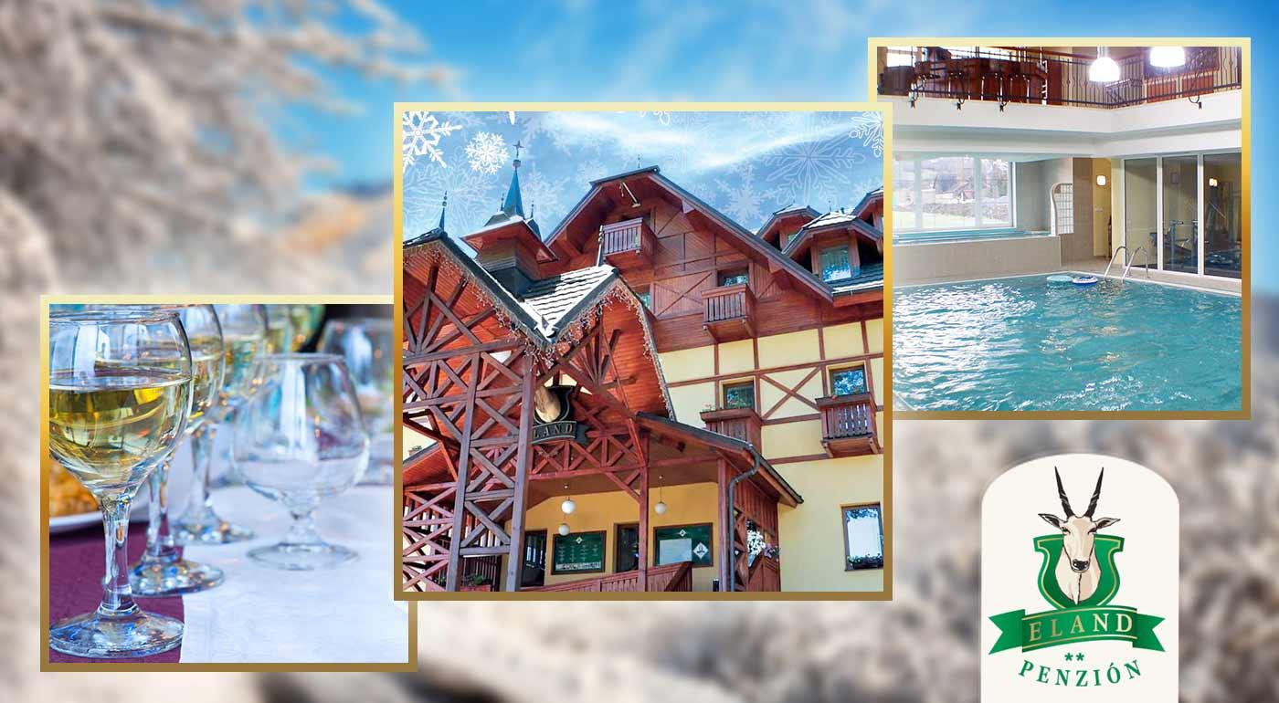 Skvelé 3 či 4 dni v znamení wellness, aktívneho oddychu a výborného jedla v hoteli***+ ELAND neďaleko Pienin