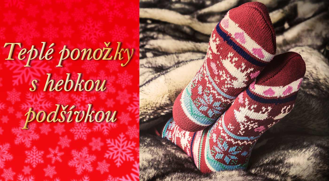 Extra hrubé bambusové ponožky pre dámy pre dokonalé domáce pohodlie
