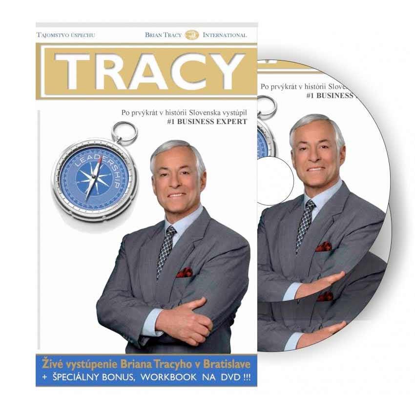 DVD Brian Tracy – Umenie výnimočného vodcu (6 hodinová prednáška na 2 diskoch)