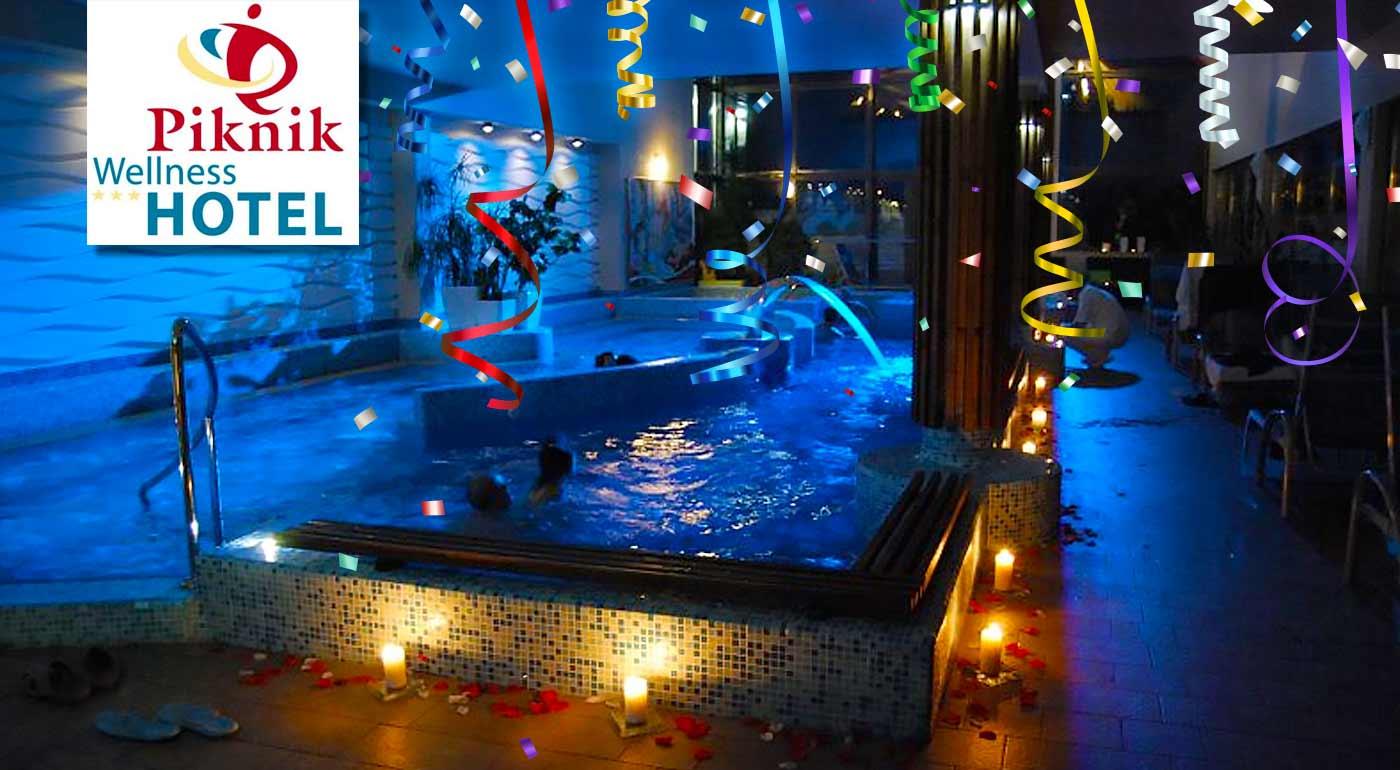 Silvestrovský pobyt v Piknik Wellness Hoteli*** Siofok pri Balatone - v cene aj silvestrovský galavečer, wellness a plná penzia
