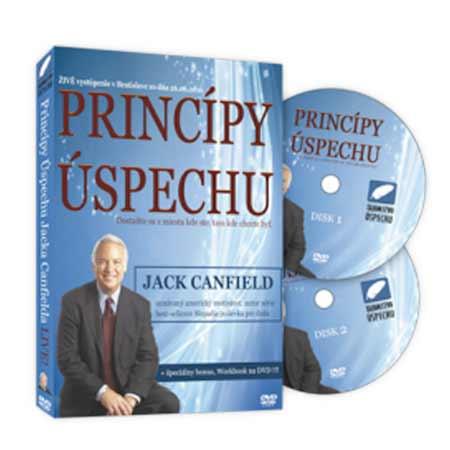 DVD Jack Canfield – Pravidlá úspechu (6 hodinová prednáška na 2 diskoch)