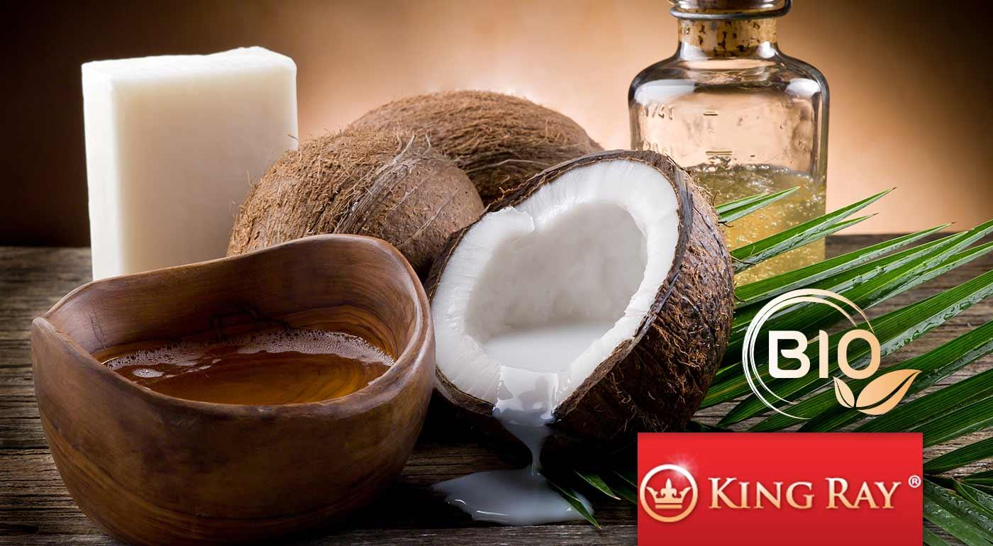 BIO panenský kokosový olej Kingray lisovaný za studena