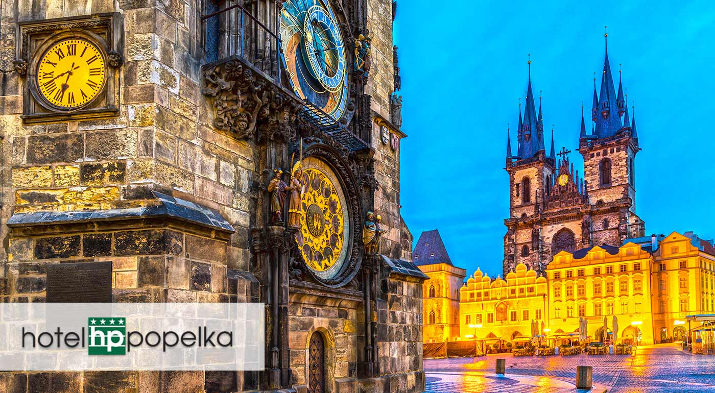 Urobte si 3-dňový výlet do Prahy a ubytujte sa v útulnom Hoteli Popelka**** s raňajkami a super dostupnosťou do centra Prahy