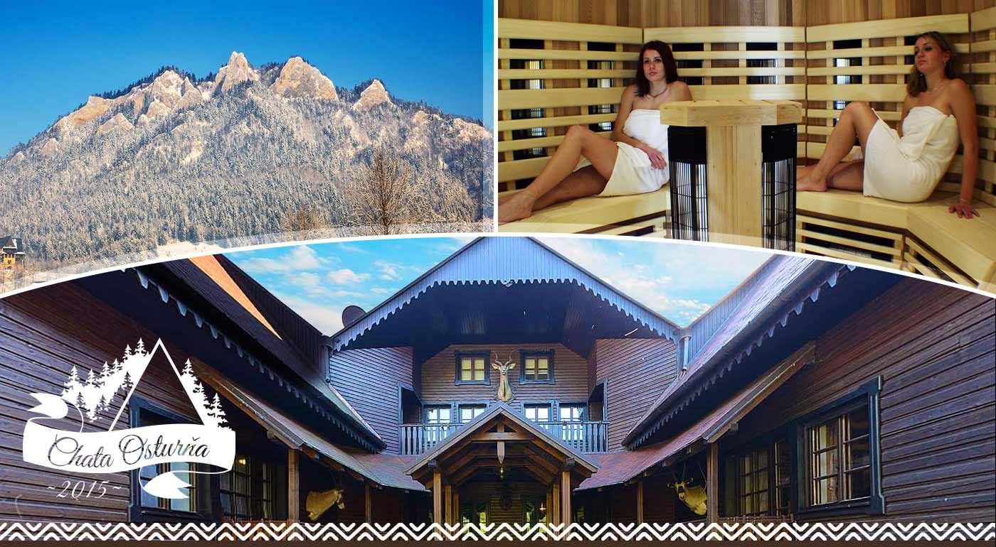 Chata Osturňa v neskutočnej prírode Pienin - pobyt na 3 alebo 4 dni v štýlovej chalupe! V balíčku i raňajky, wellness a minigolf.