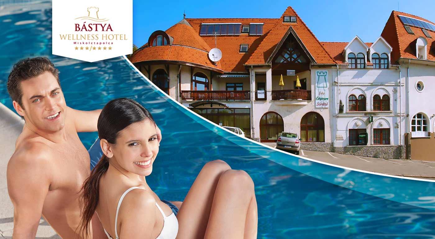 Wellness pobyt v Bástya Wellness Hotel***/**** v Maďarsku plný relaxu v kúpeľnom meste Miskolctapolca