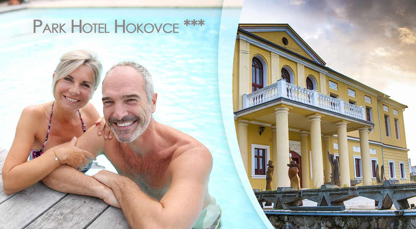 4-dňový zájazd pre seniorov s pobytom v Hoteli Park Hokovce *** s procedúrami, plnou penziou a autobusovou dopravou