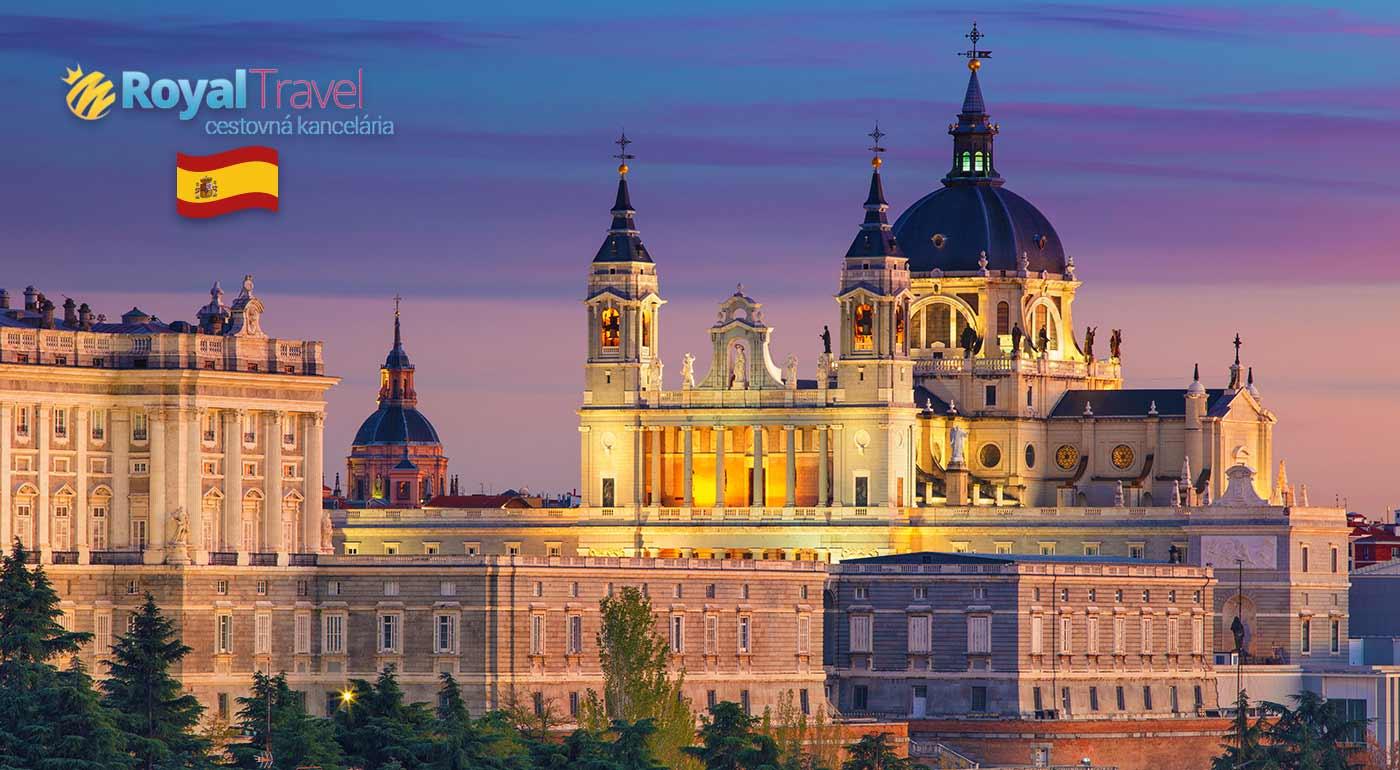Temperamentný Madrid - metropola flamenca, toreádorov či umenia na leteckom zájazde z Bratislavy! Letiskové a palivové poplatky v cene!