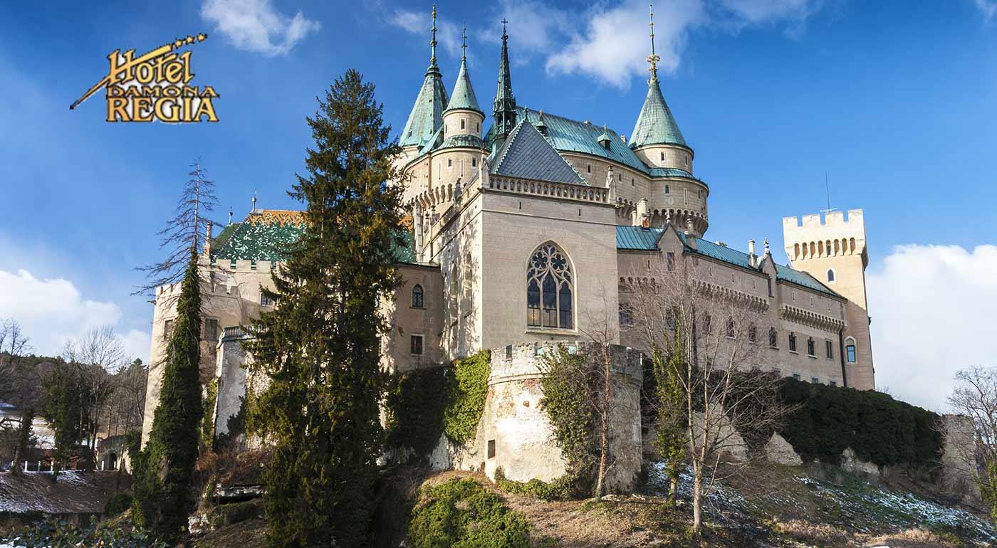 Pobyt pre dvojicu v Hoteli Regia*** v nádhernom kúpeľnom meste Bojnice
