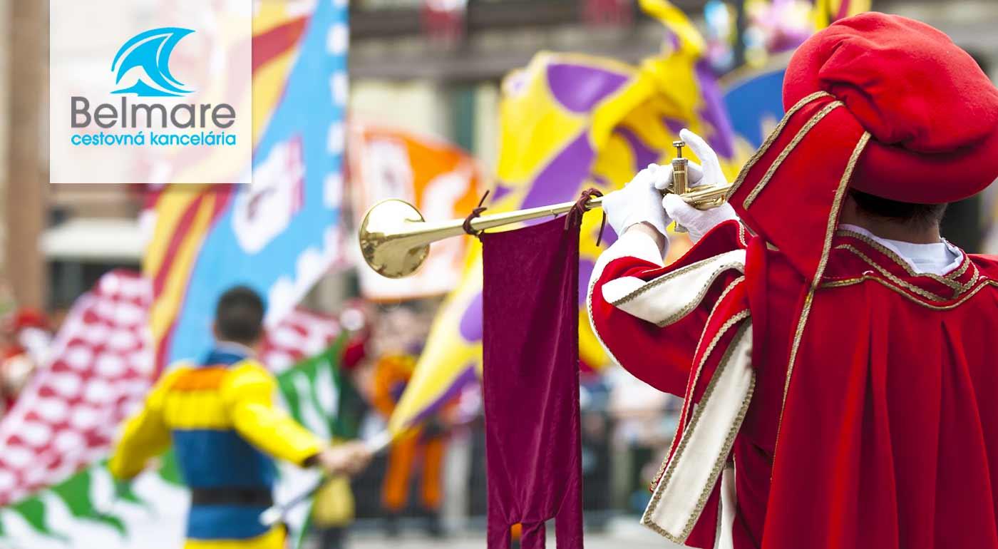 3-dňový zájazd na historický festival Slávnosti päťlistej ruže do Českého Krumlova s návštevou zámku Hluboká a mesta Třeboň