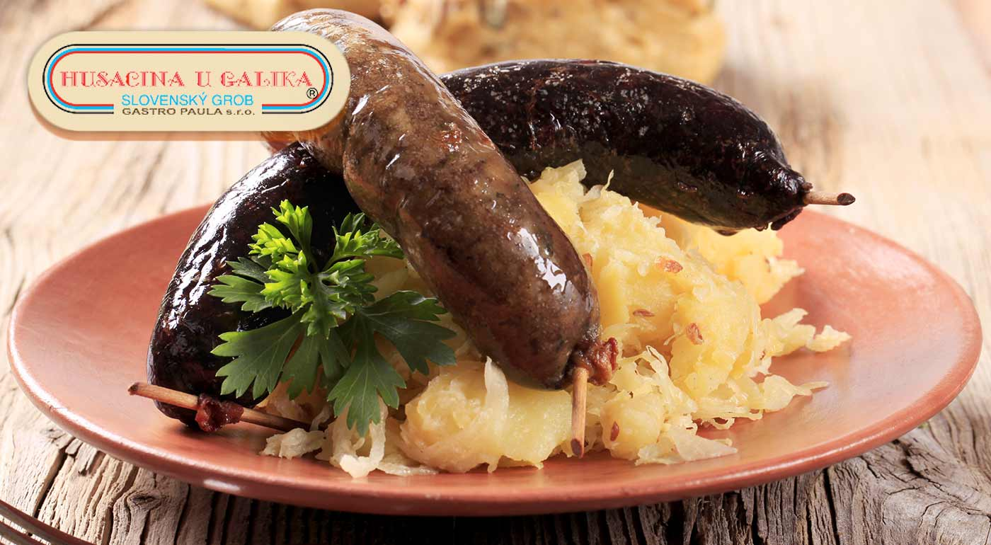 Domáce zabíjačkové hody pre 5 osôb v reštaurácii Husacina u Galika