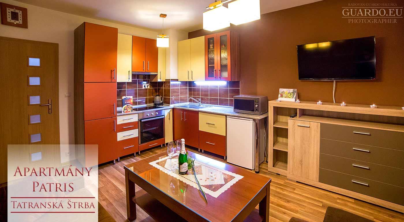 Skvelá zimná dovolenka v pohodlí moderného Apartmánového domu Patris v Tatranskej Štrbe