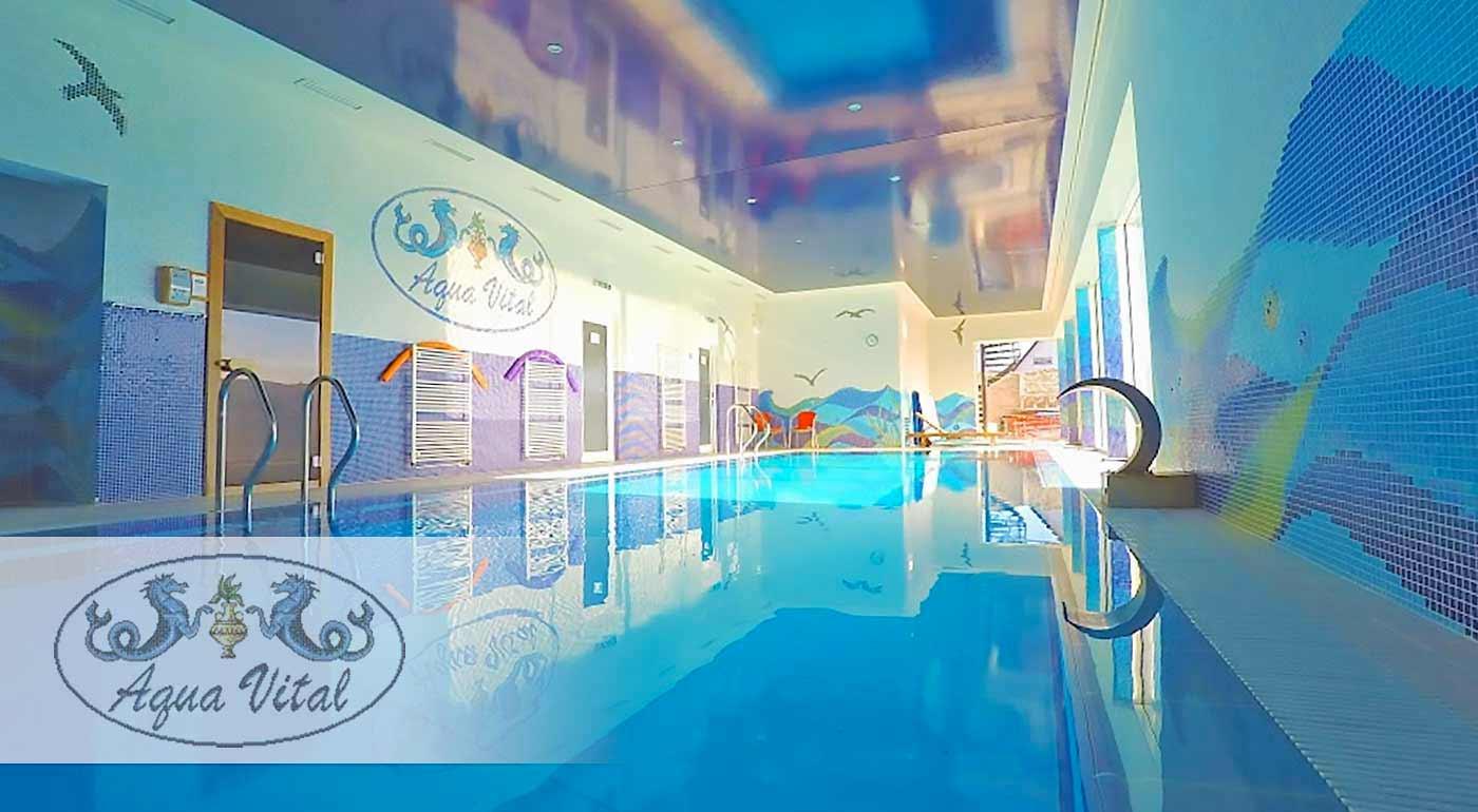 Wellness pobyt v Relax Centre Aqua Vital pri Bojniciach s neobmedzeným vstupom do vírivky, sauny či bazéna