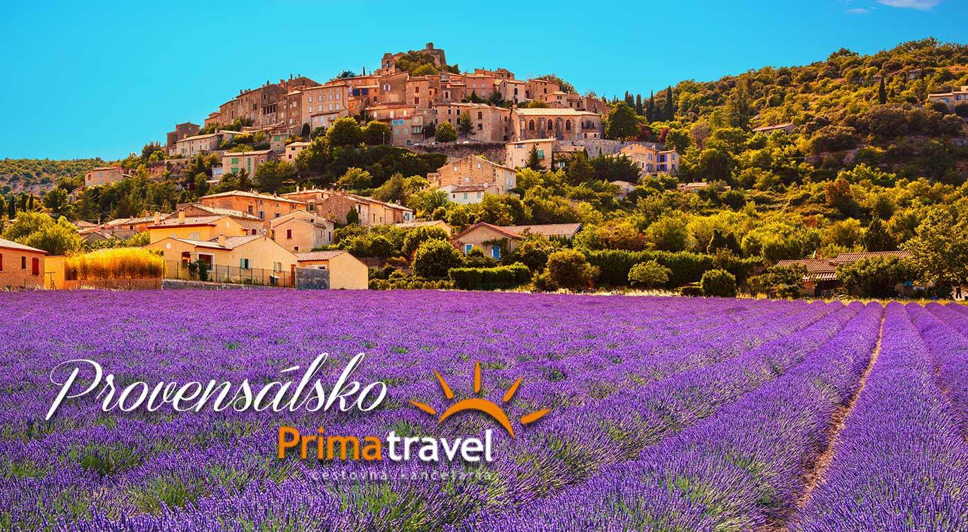 6-dňový zájazd do levanduľového Provensálska - navštívte Marseille, Nice, Monako a Aix-en-Provence