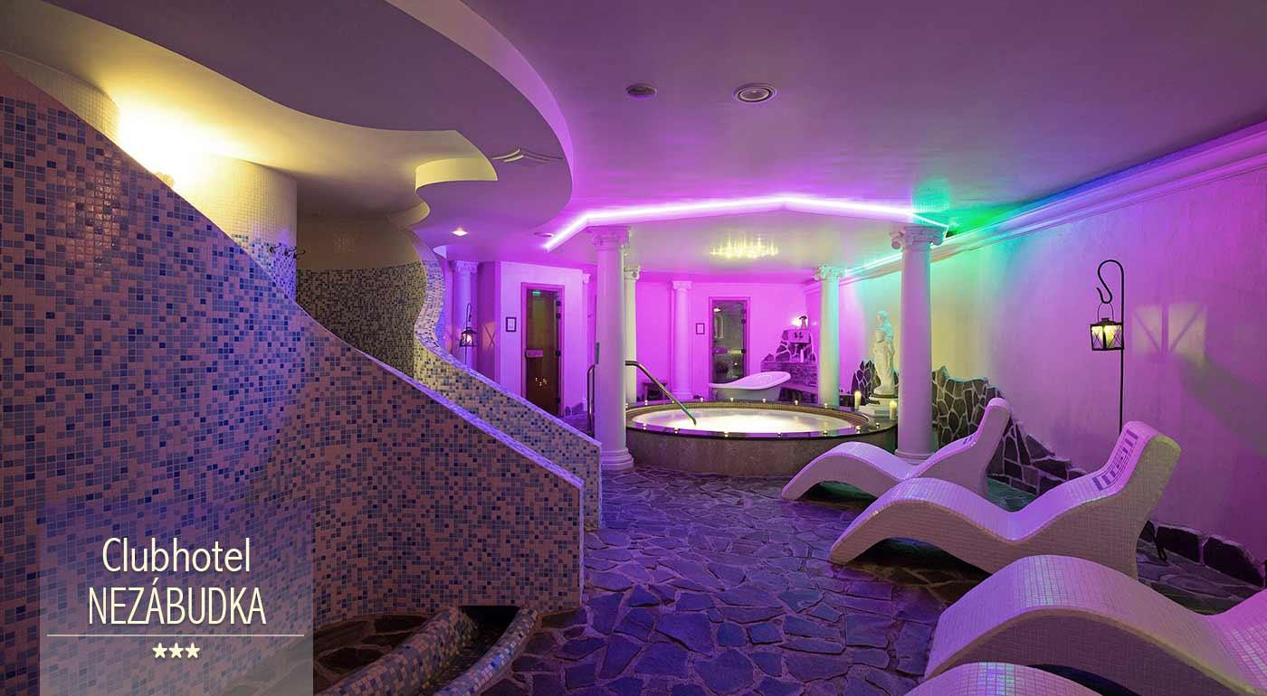Nezabudnuteľné chvíle pod tatranskými štítmi v Clubhoteli*** Nezábudka - wellness, polpenzia alebo all inclusive v cene pobytu